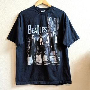 The Beatles Apple Corps LTD. Blue T-shirt XL